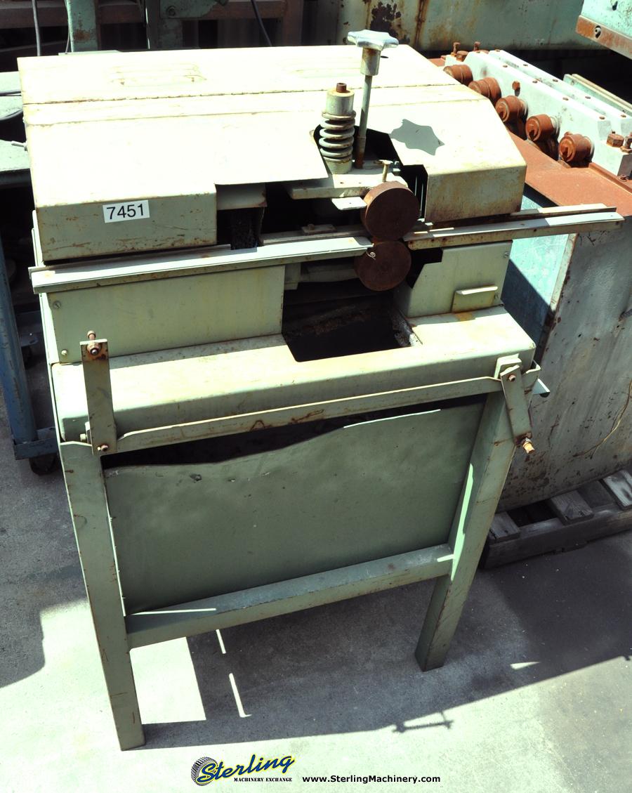 Used Falls Edge Sheet Metal Deburring Machine Deburring