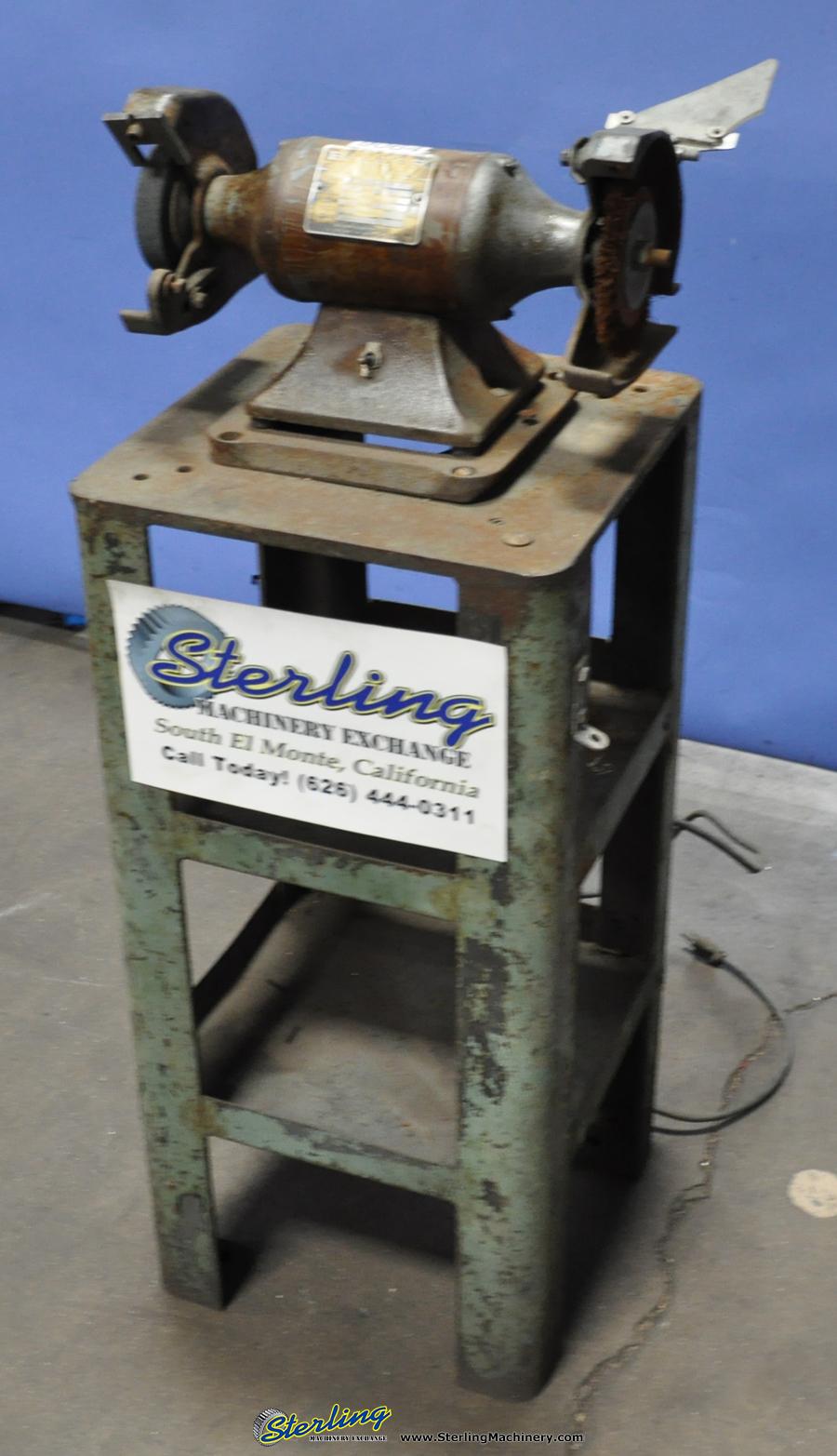 Prime Used Baldor Bench Grinder Sterling Machinery Dailytribune Chair Design For Home Dailytribuneorg