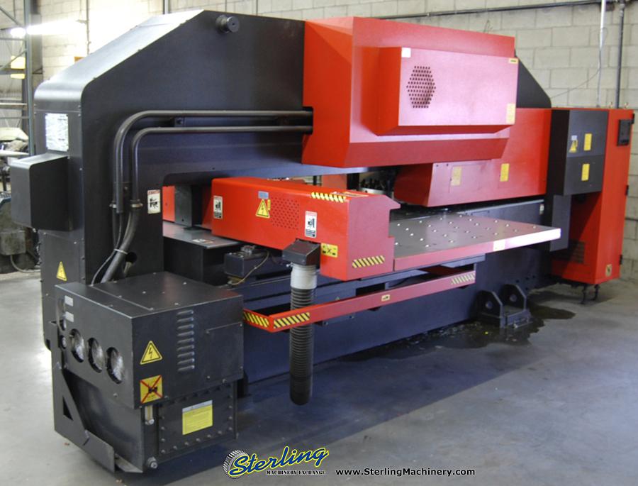 Used Amada CNC Turret Punch Press Sterling Machinery