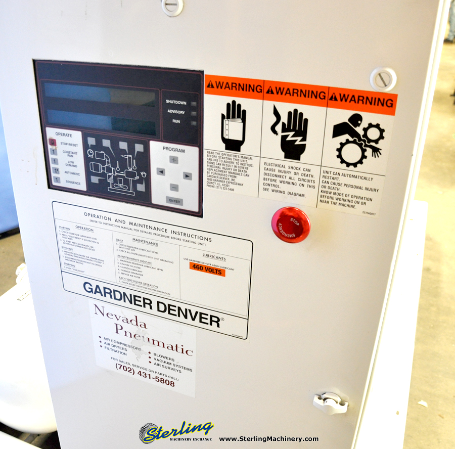 Gardner Denver Electra Saver II Rotary Compressor ... on