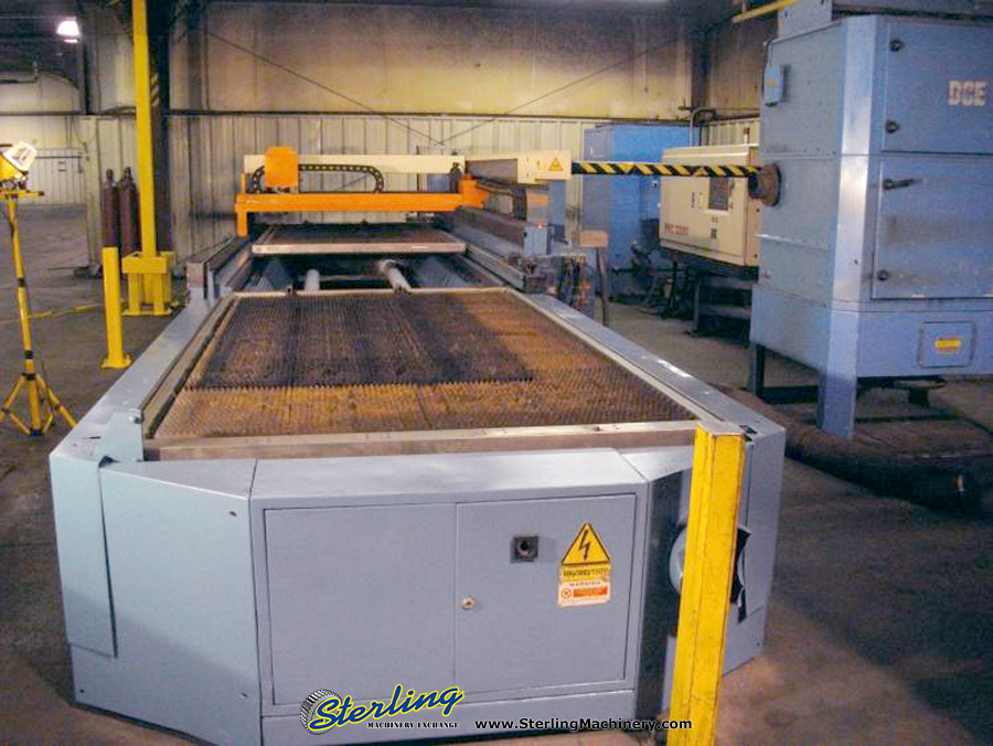 Used Prima CNC Laser Cutting Machine W/ Shuttle Table ...