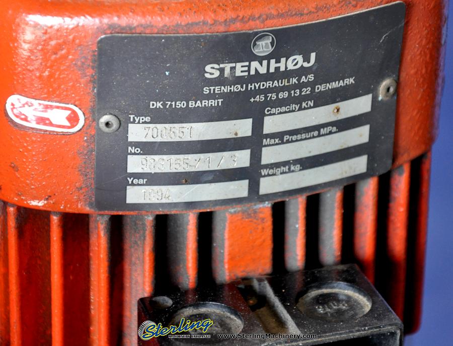 Used Dake Hydraulic H Frame Press Sterling Machinery