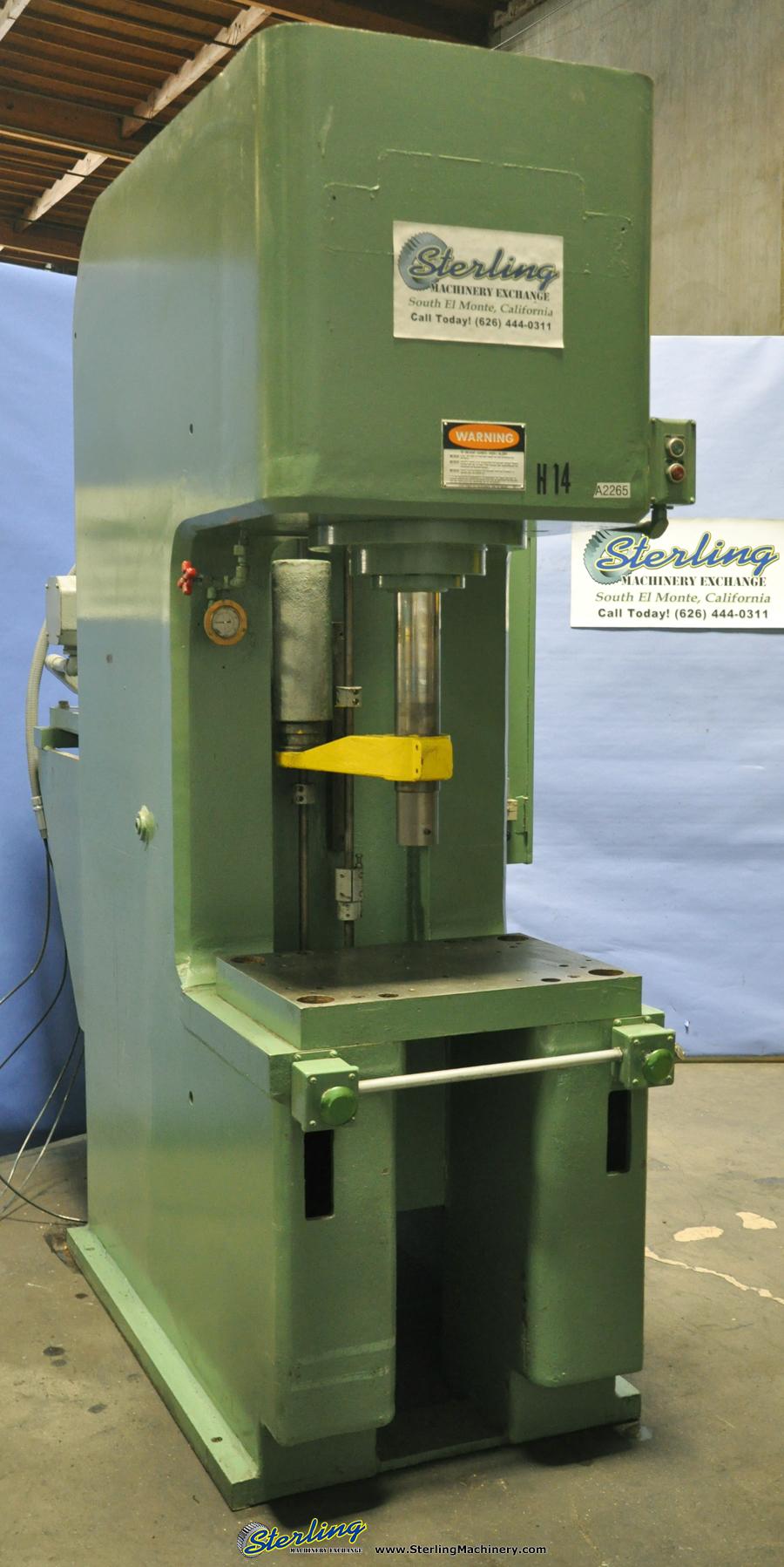 Used Denison Hydraulic C Frame Press Sterling Machinery