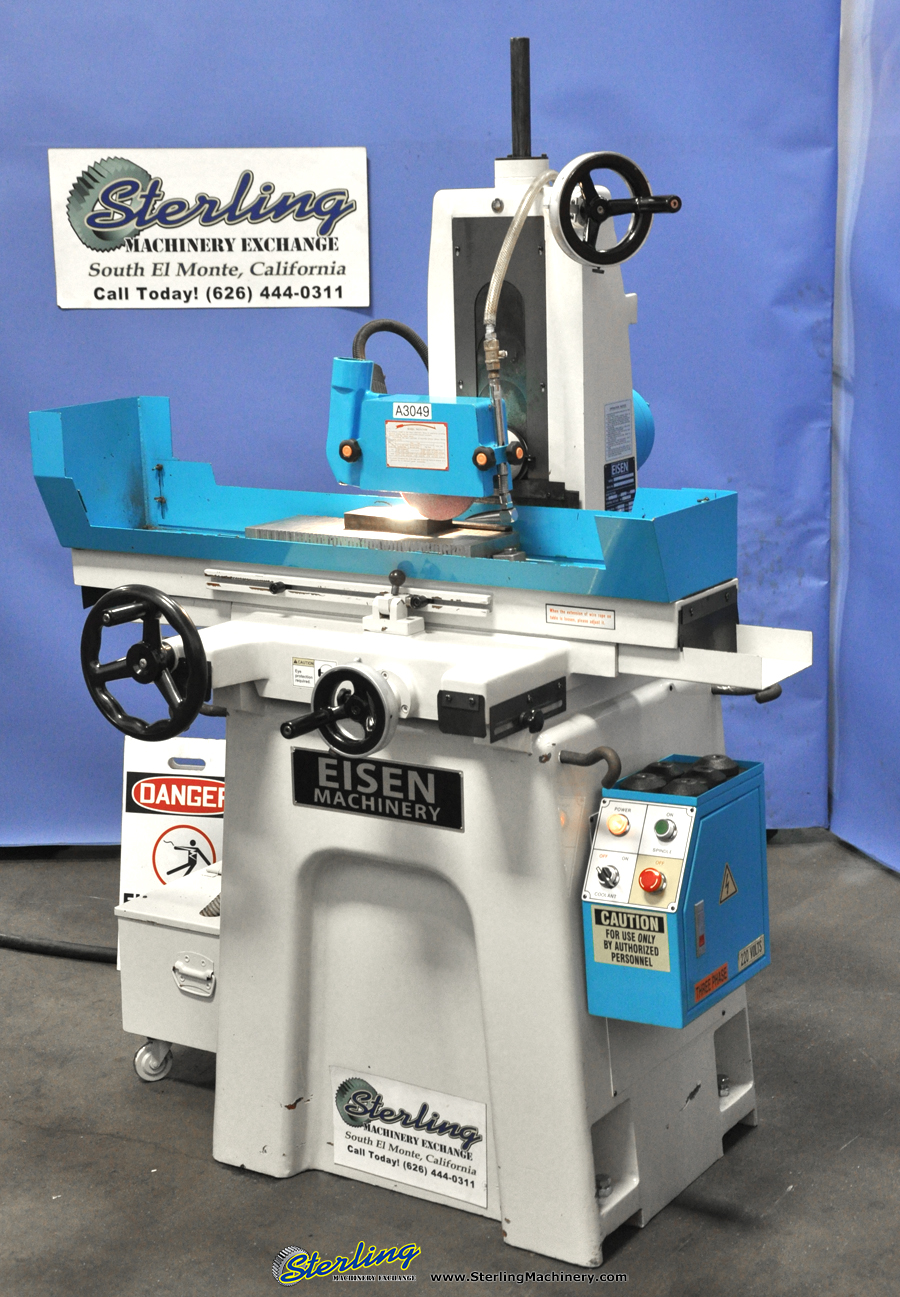 Used Eisen Precision Manual Surface Grinder Sterling Machinery