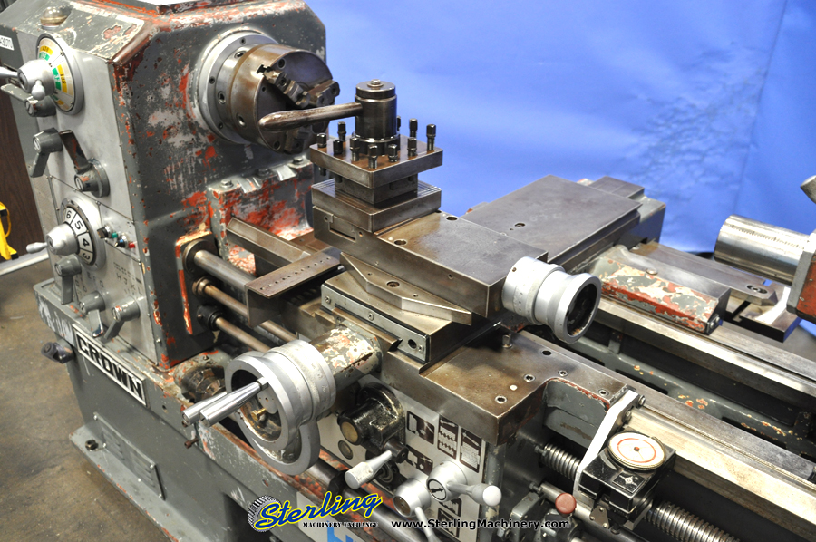 Used Ta Shing Crown 'Removable' Gap Bed Engine Lathe Sterling Machinery