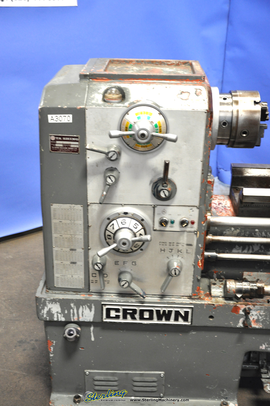 ta shing crown removable gap bed engine lathe engine lathes sterling machinery