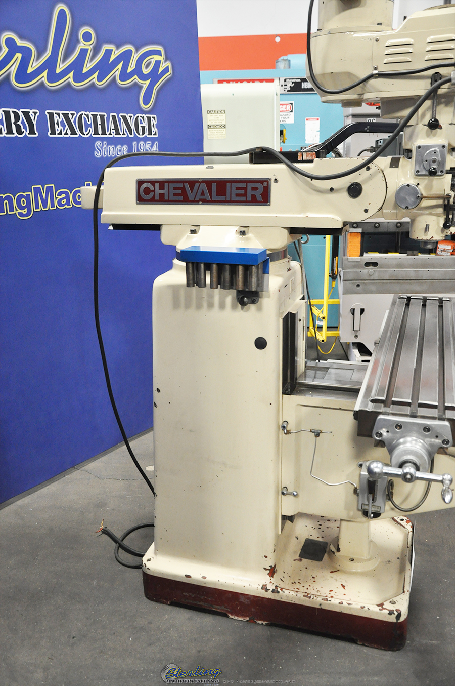 Used Chevalier Vertical Milling Machine Sterling Machinery