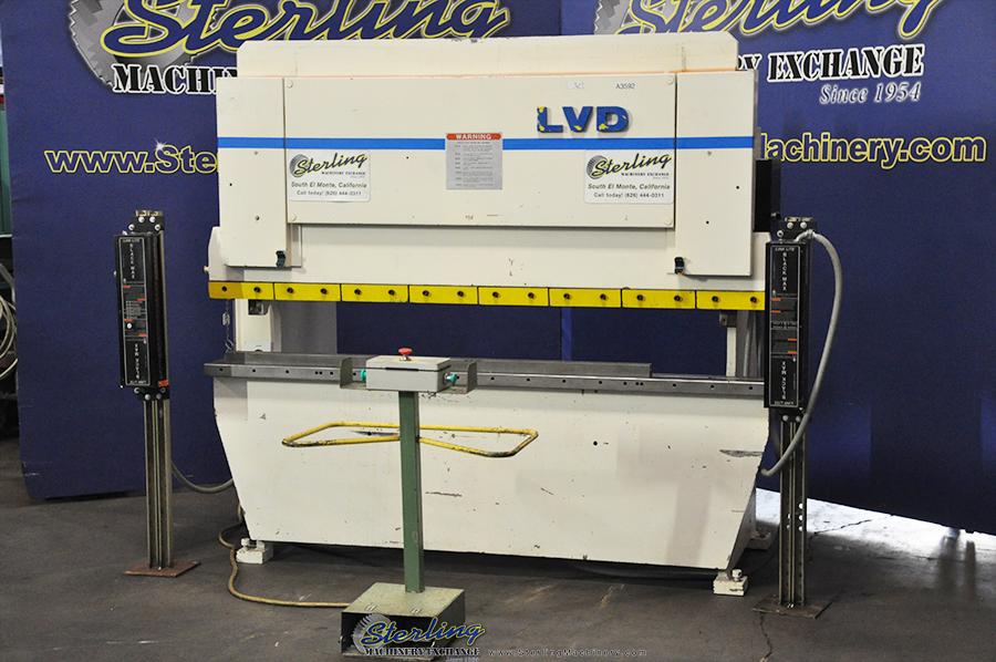 Used Lvd Hydraulic Press Brake Sterling Machinery