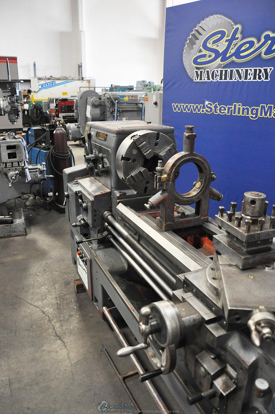 webb whacheon gap bed engine lathe sterling machinery