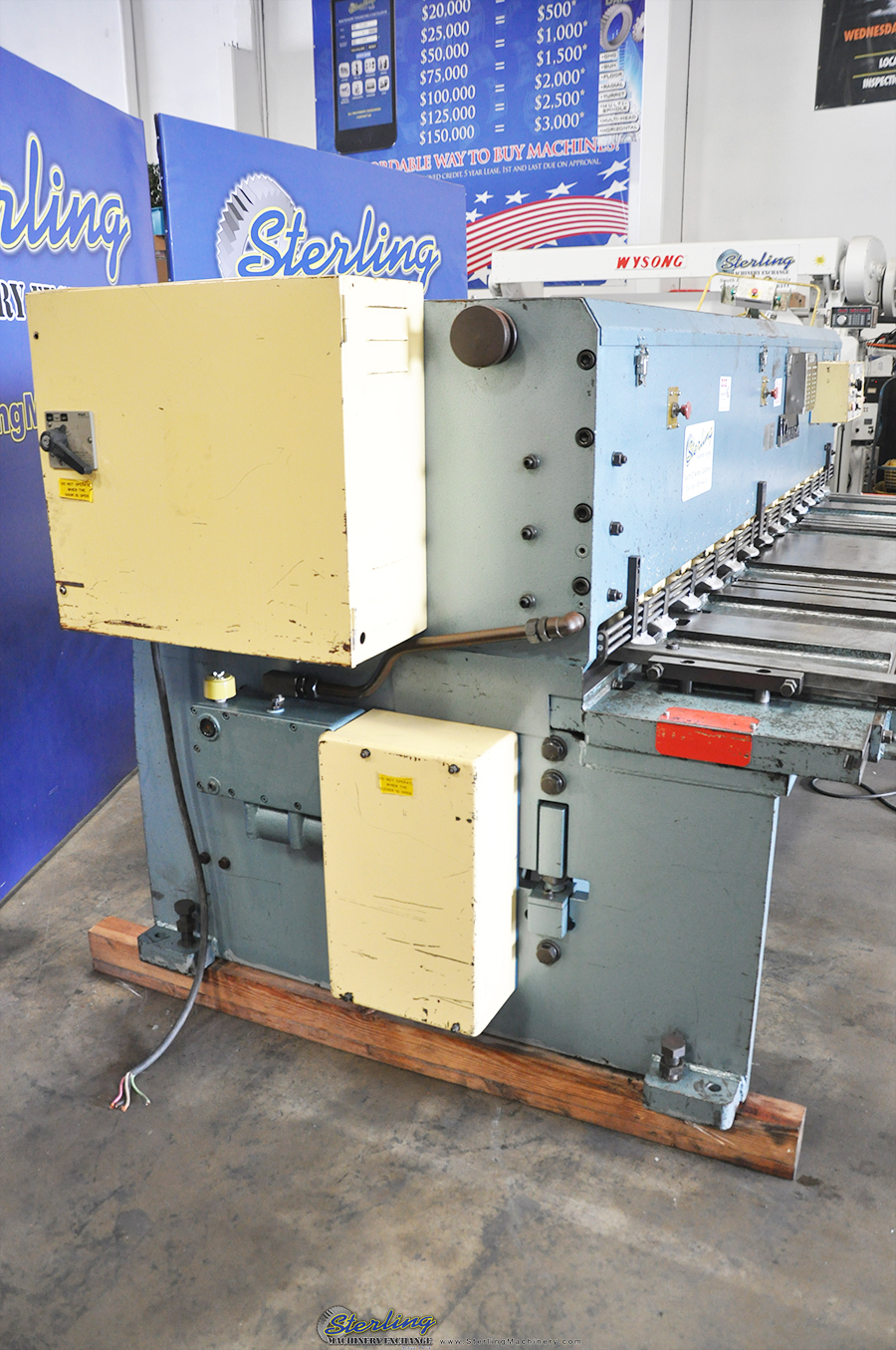 Used Amada Power Shear Sterling Machinery