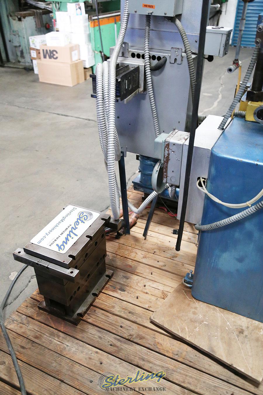 Used Custom 4 Post Heated Laminating Press Laminating