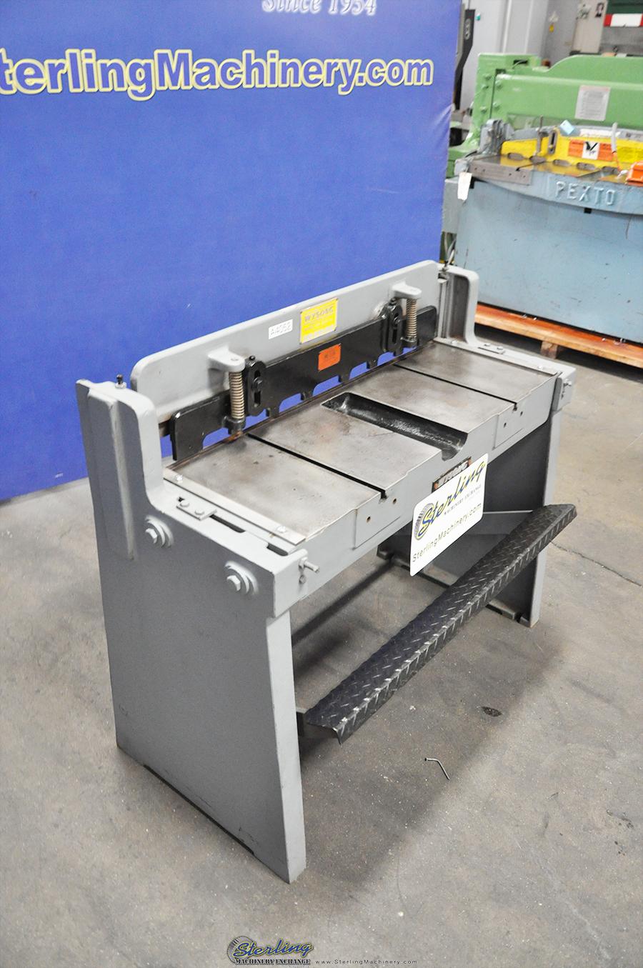 Wysong hydraulic shear manual