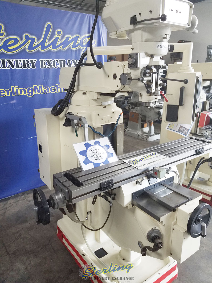 (New Old Stock) Mighty Comet Vertical CNC Milling Machine ...