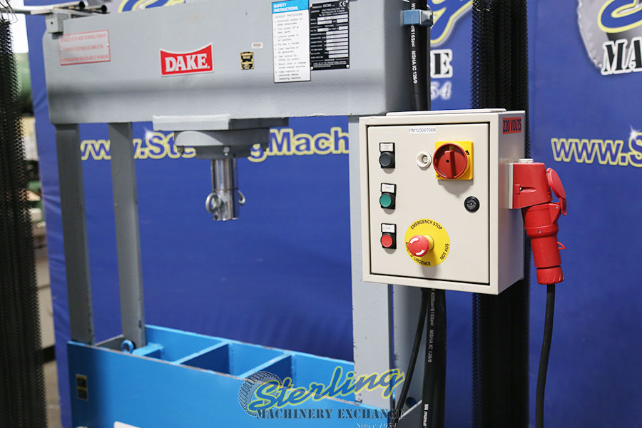 Used Dake H-Frame Hydraulic Press (Like New Condition) Sterling
