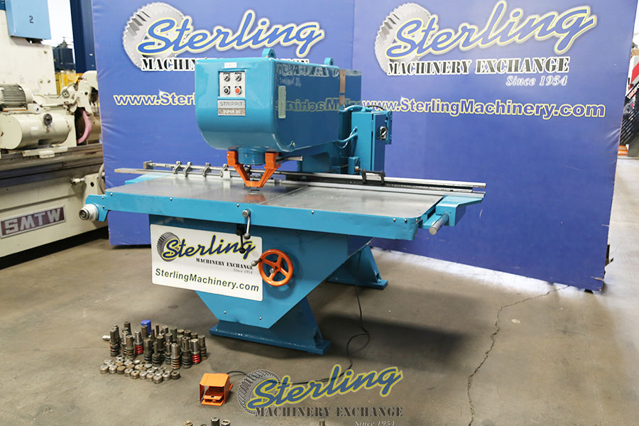 Used Strippit Single End Fabricator Punch Fabricating