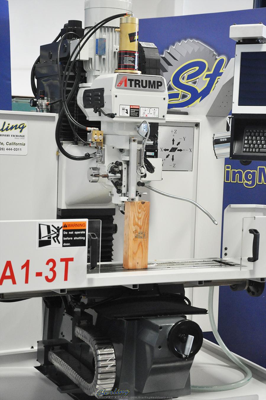 Brand New Atrump Cnc Bed Milling Machine Sterling Machinery