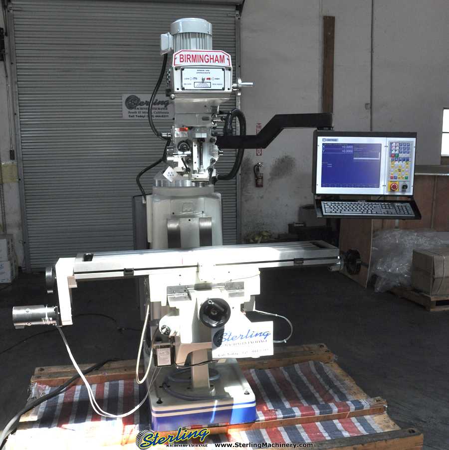 Brand New Birmingham (3 Axis) CNC Vertical Milling Machine