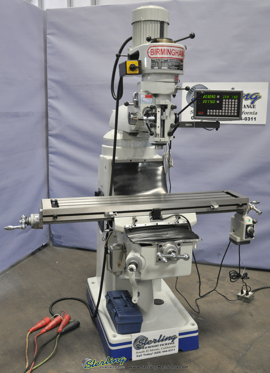 Brand New Birmingham Step Pulley Milling Machine