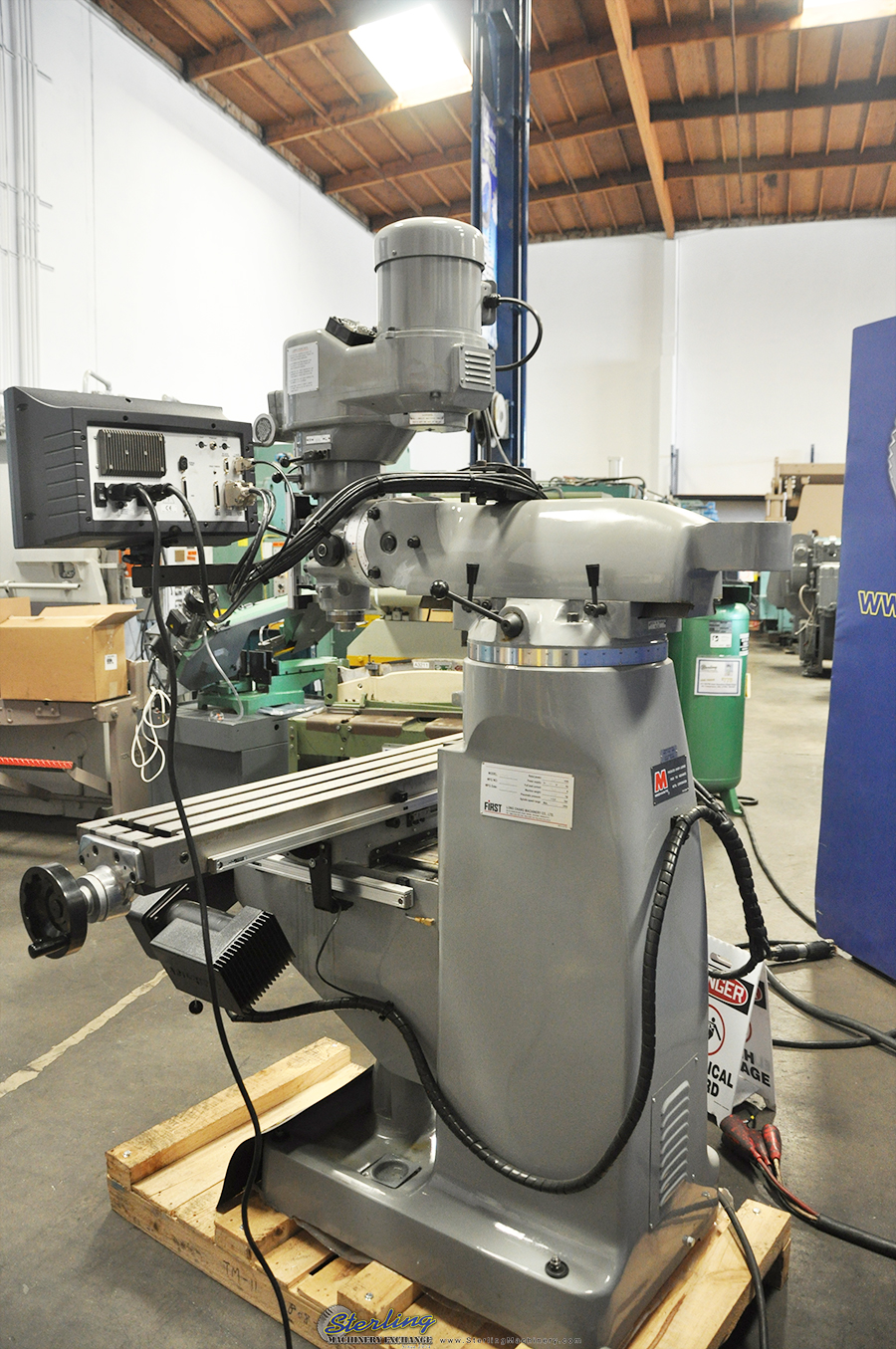 Brand New Acra Millpower Cnc Vertical Mill Sterling Machinery