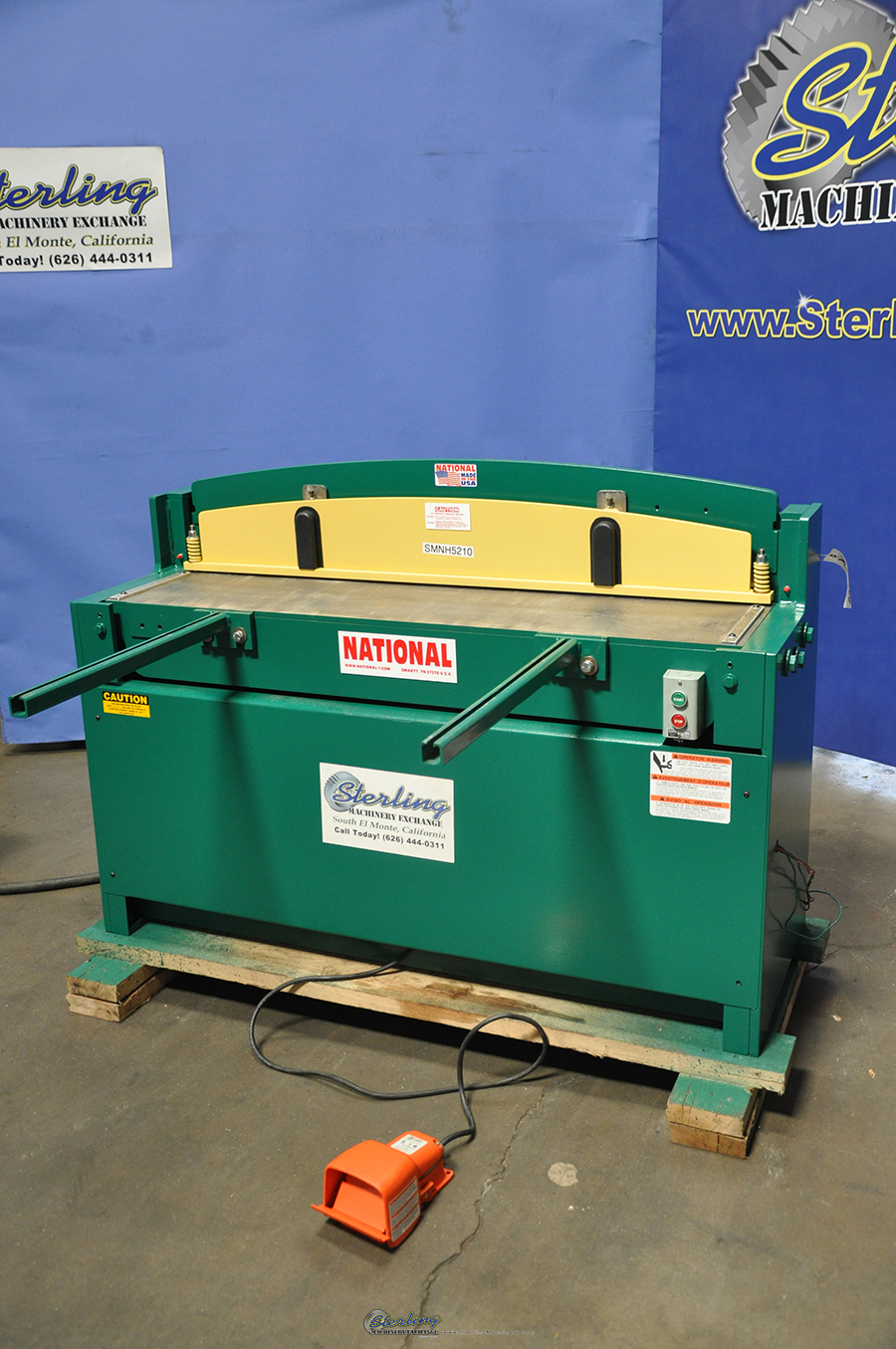 Brand New National Hydraulic Shear - Power Squaring (Gauge) 10 Gauge ...