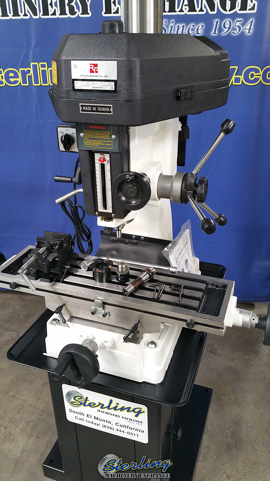 Brand New Acra Rong Fu Milling And Drilling Machine
