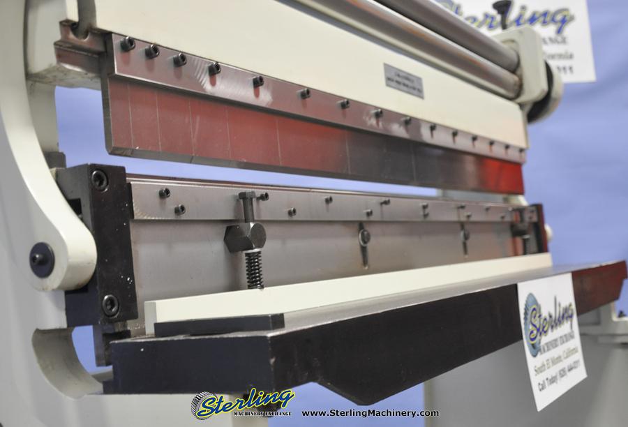Brake Roll Shear 5216 Sbr : Brand new birmingham manual in machine with stand