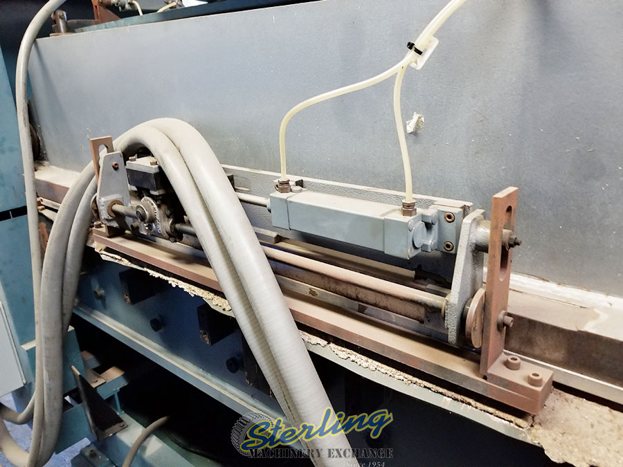 Used Samco Full Beam Die Cutting Clicker Press Machine For
