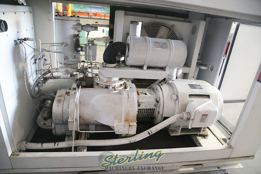 Used Gardner Denver Electra Saver Turn Valve Rotary Screw Air