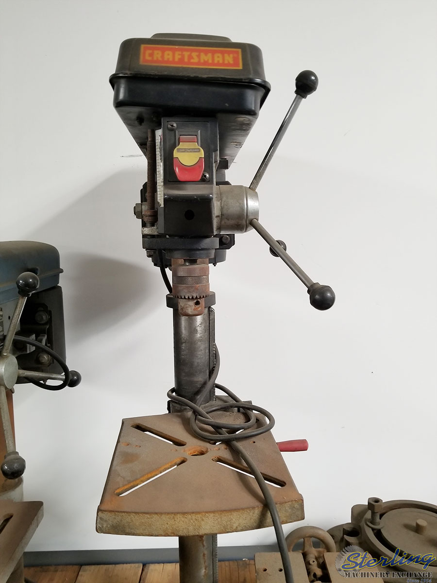 Used Craftsman Bench Top Drill Press Sterling Machinery