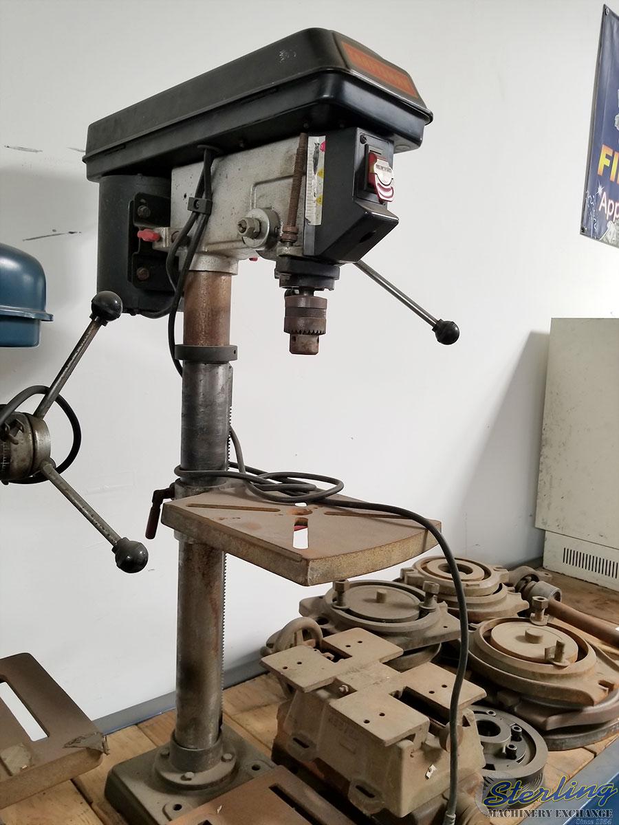Used Craftsman Bench Top Drill Press Floor Type Heavy
