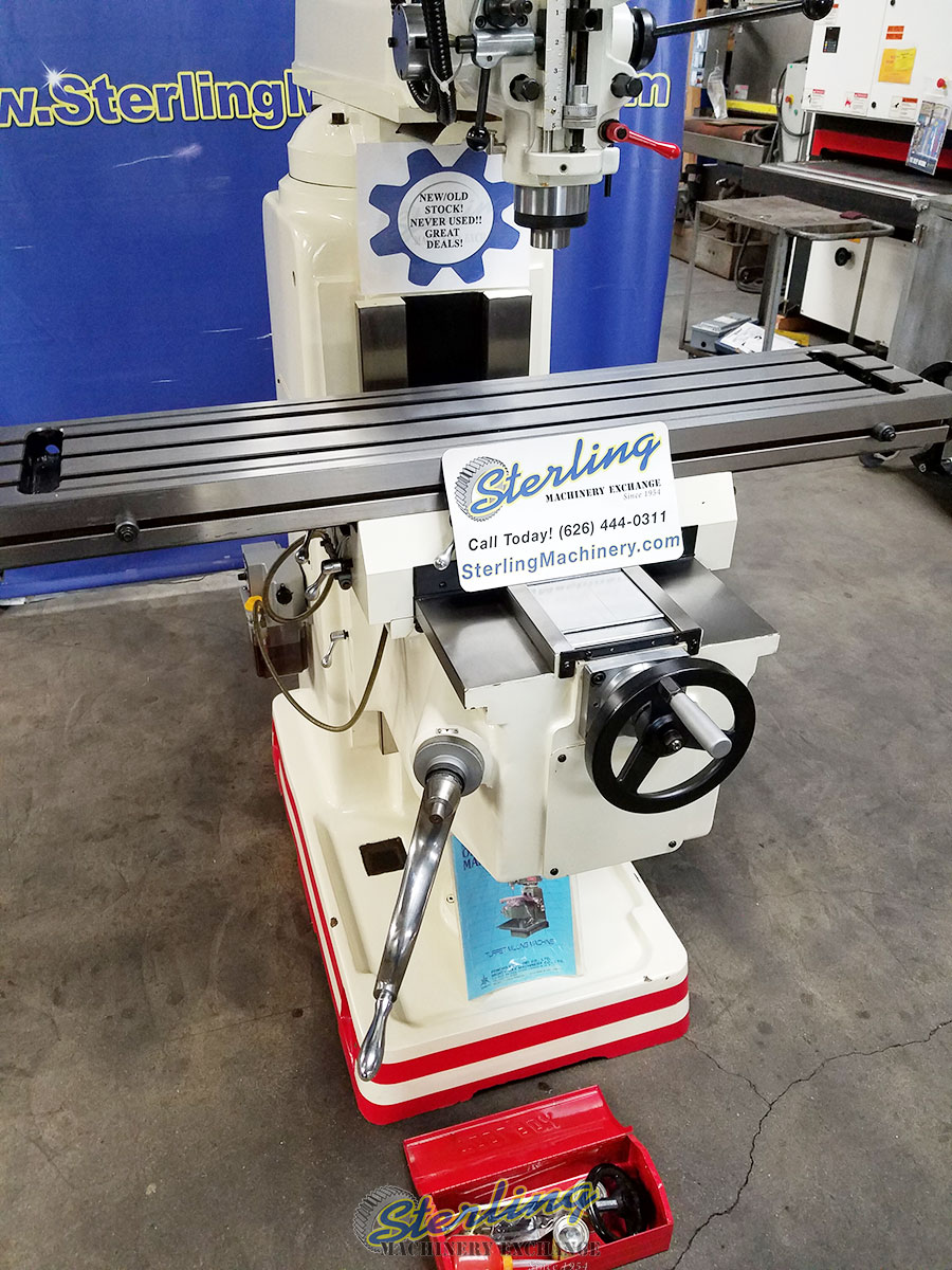 New Old Stock Mighty Comet Vertical Milling Machine