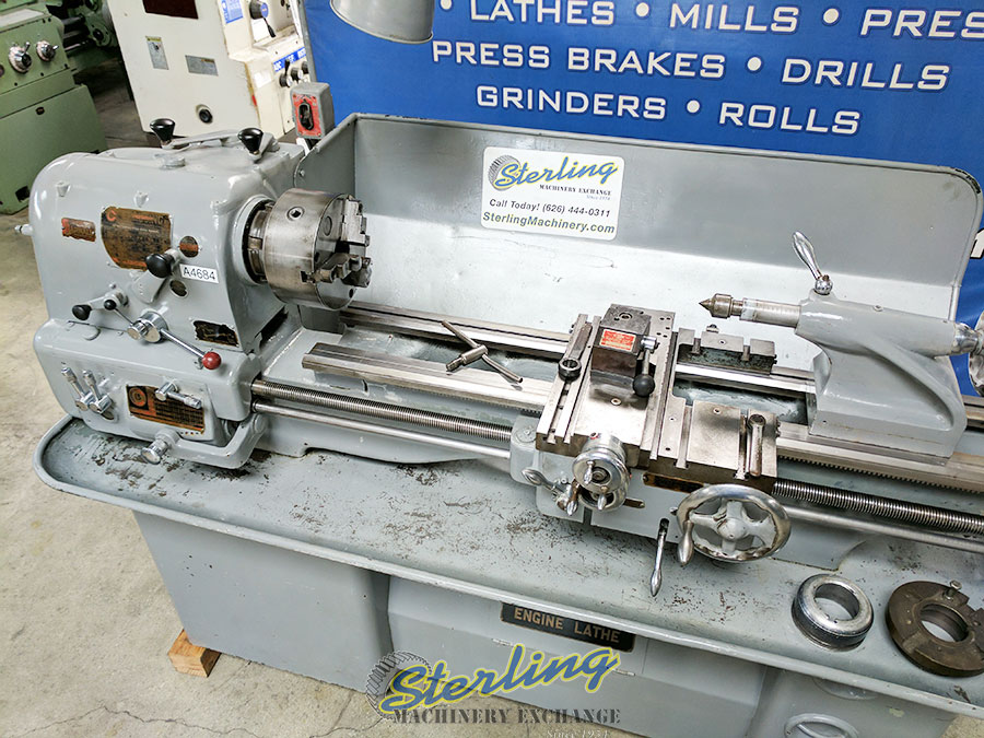 Used Clausing Colchester Geared Head Removable Gap Bed Lathe