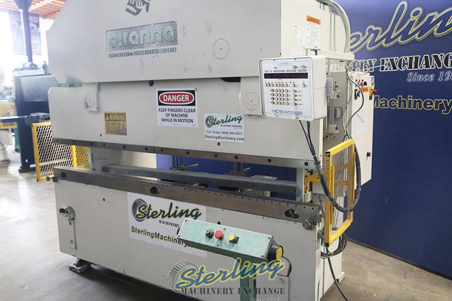 Used Piranha Cnc Hydraulic Press Brake Cnc Brake Press