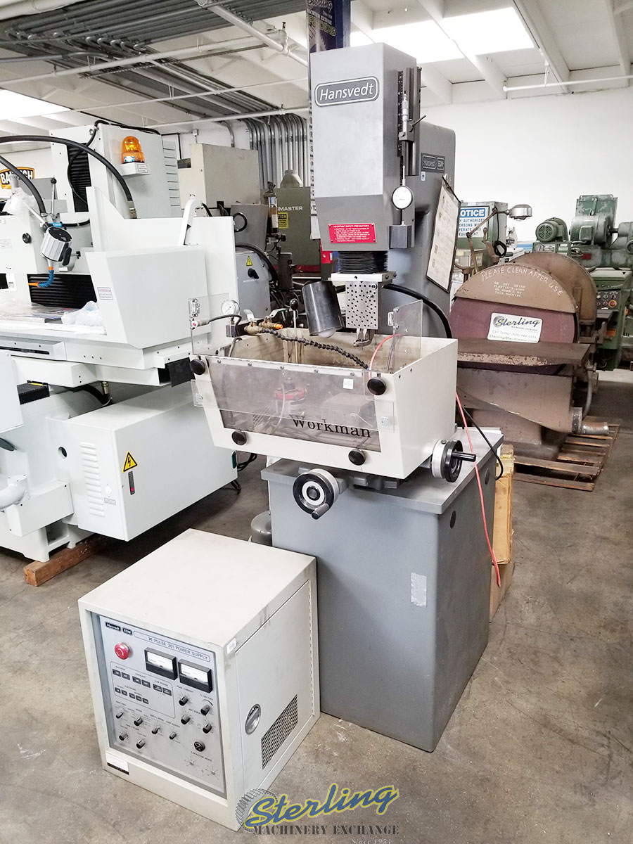 Used Hansvedt Ram Style Edm Machine Sterling Machinery
