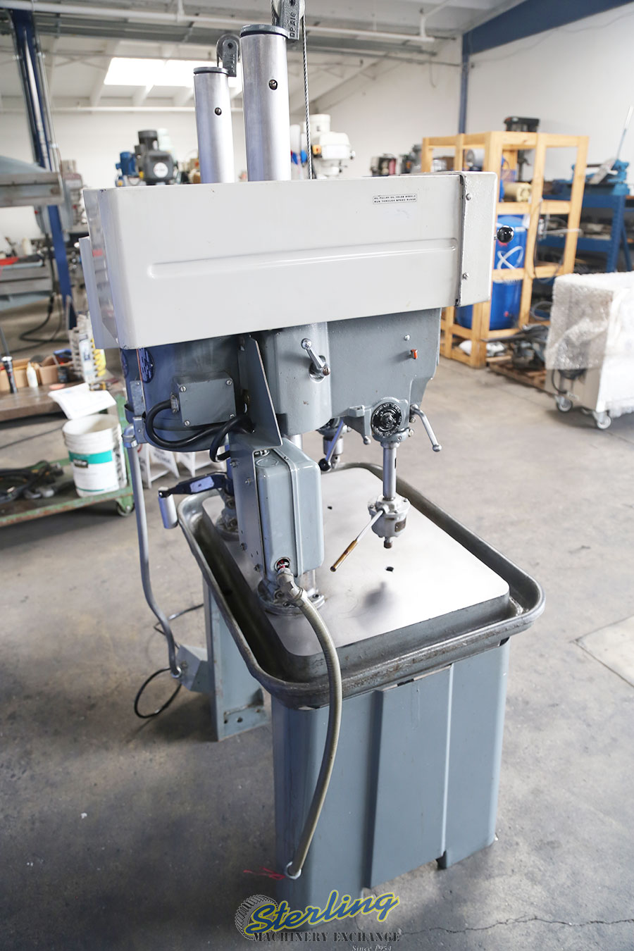 Used Rockwell Delta 2 Head Gang Drill Press Floor Type