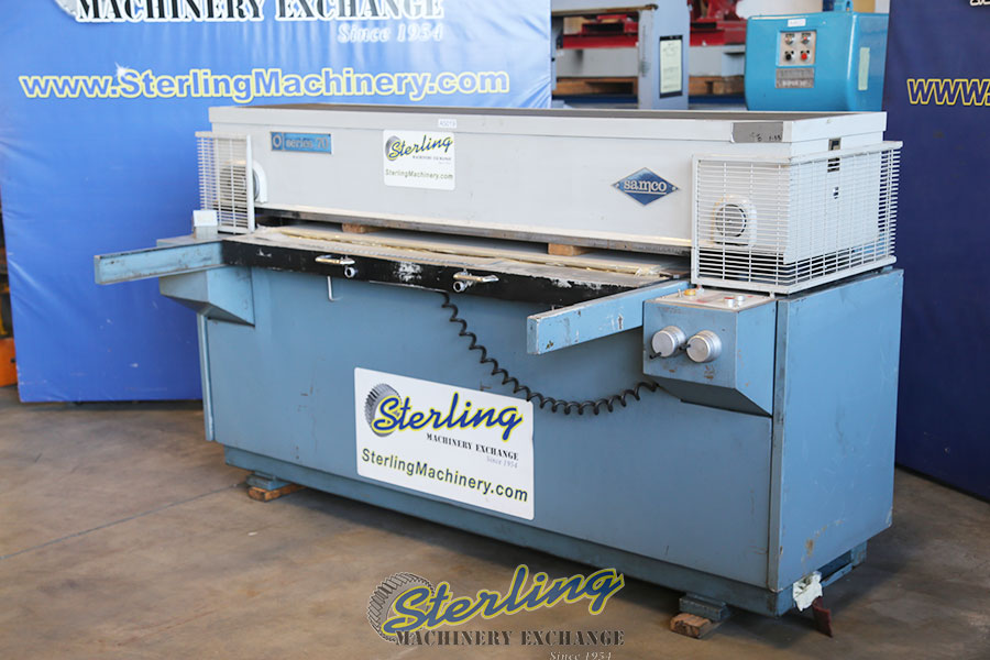 Used Samco Clicker Press Large Sliding Table Quot Excellent