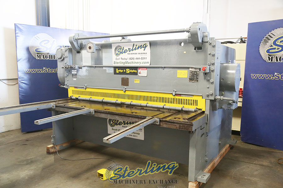 Used Lodge Amp Shipley Power Shear Heavy Duty Shear