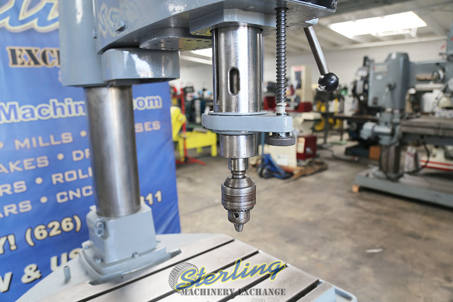 Used Rockwell Articulating Radial Arm Drilling & Tapping Machine