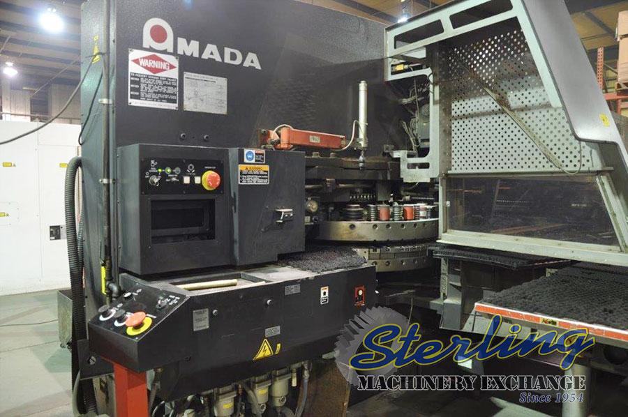 Used Amada CNC Servo-Electric Turret Punch Press Sterling Machinery