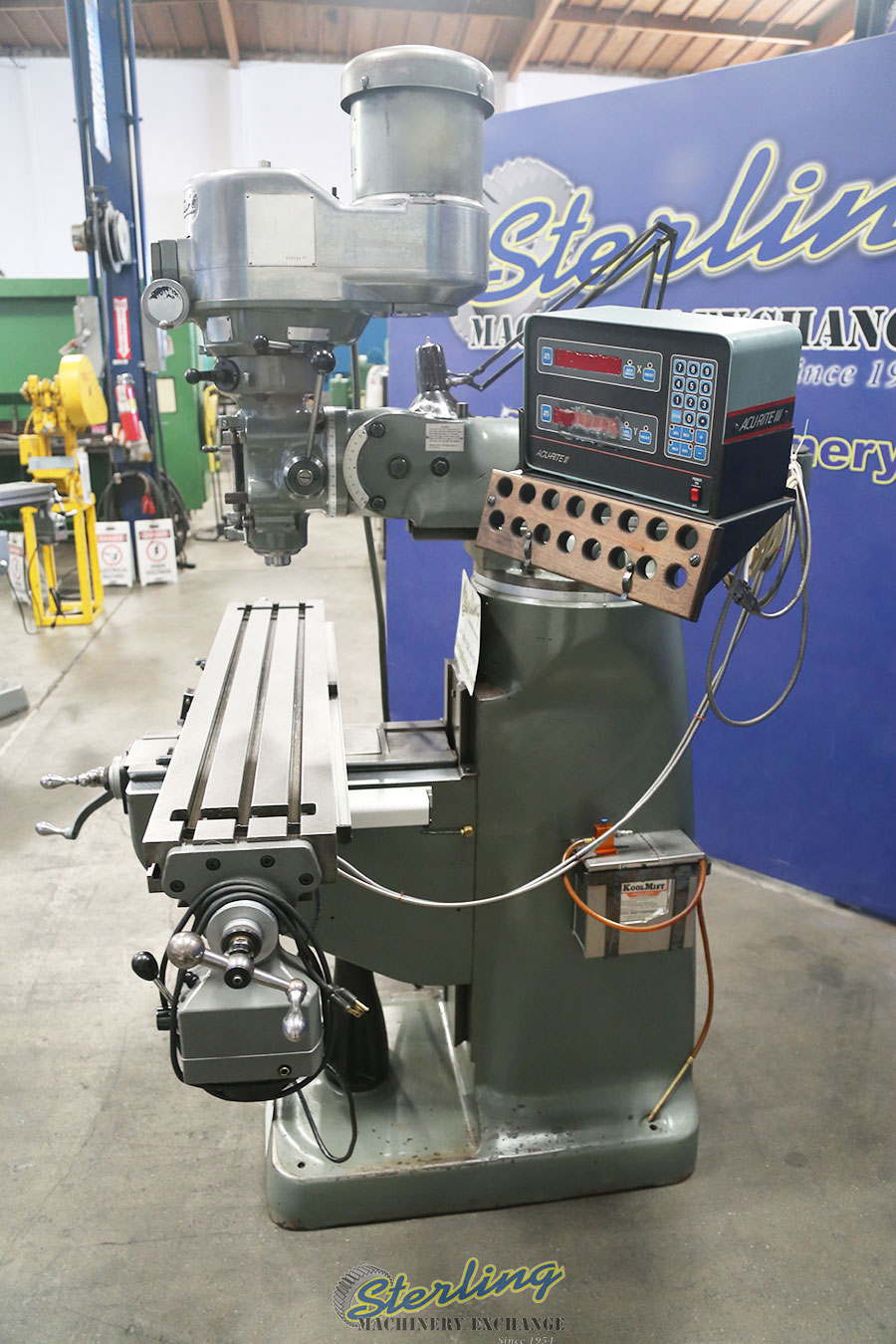 Used Bridgeport Variable Speed Vertical Milling Vertical