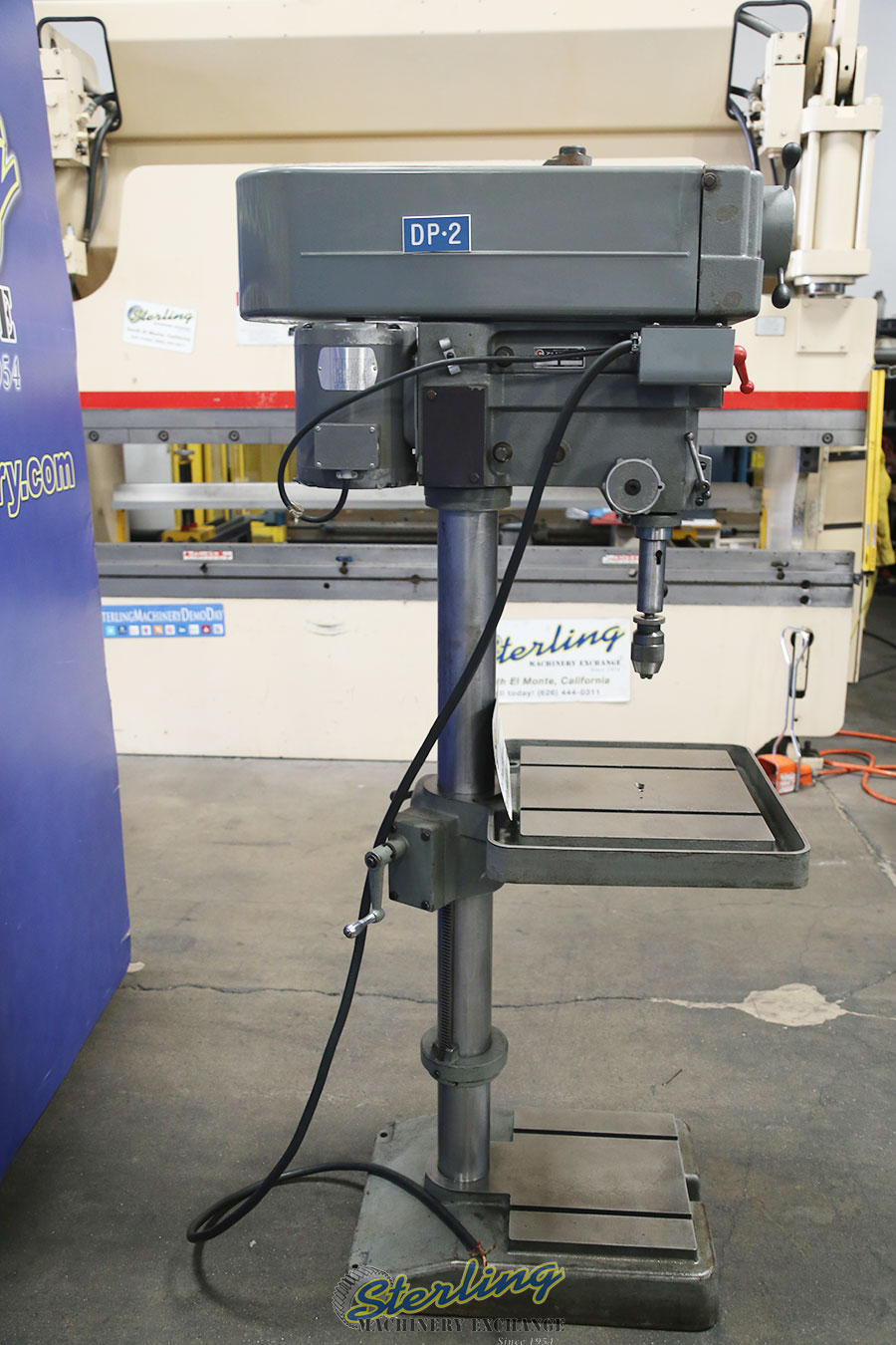 Used Clausing Variable Speed Drill Press - Drills Sterling