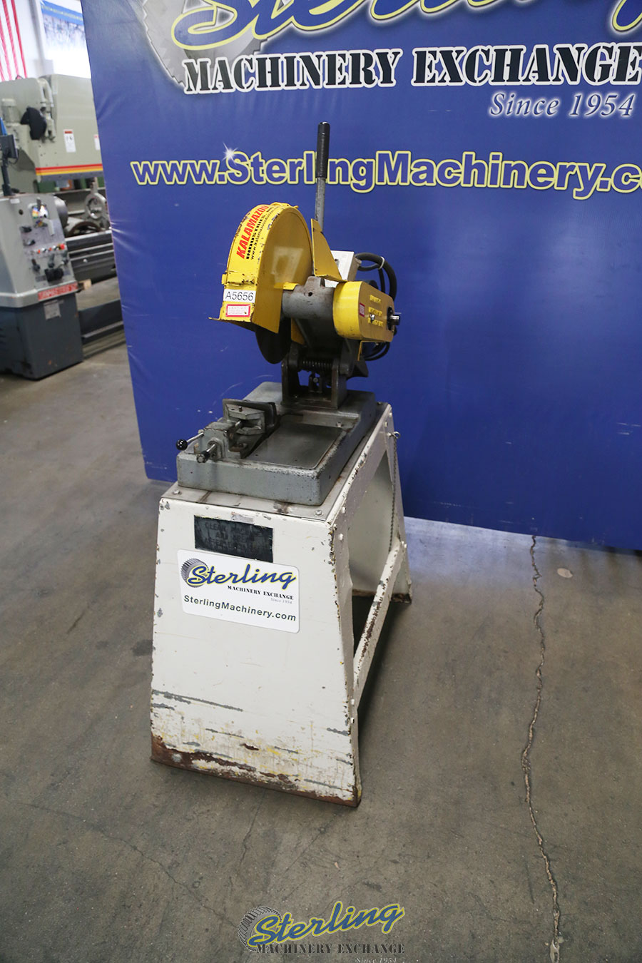 Used Abrasive Chop Saw With Stand - Abrasive & Friction - Saws