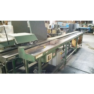 Used Stone Double Miter Automatic Saw With Automatic