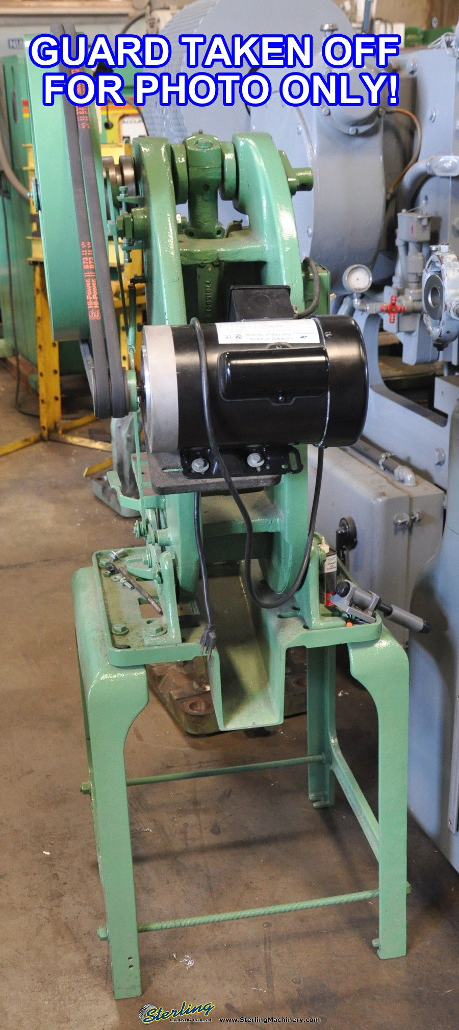 Used Benchmaster OBI Punch Press Sterling Machinery