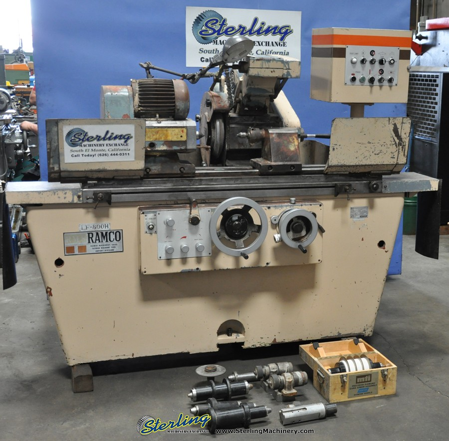 ramco universal cylindrical grinder sterling machinery
