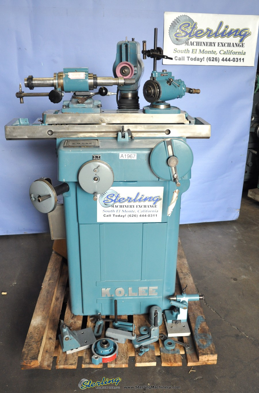 Used K O  Lee Universal Tool And Cutter Grinder Sterling Machinery