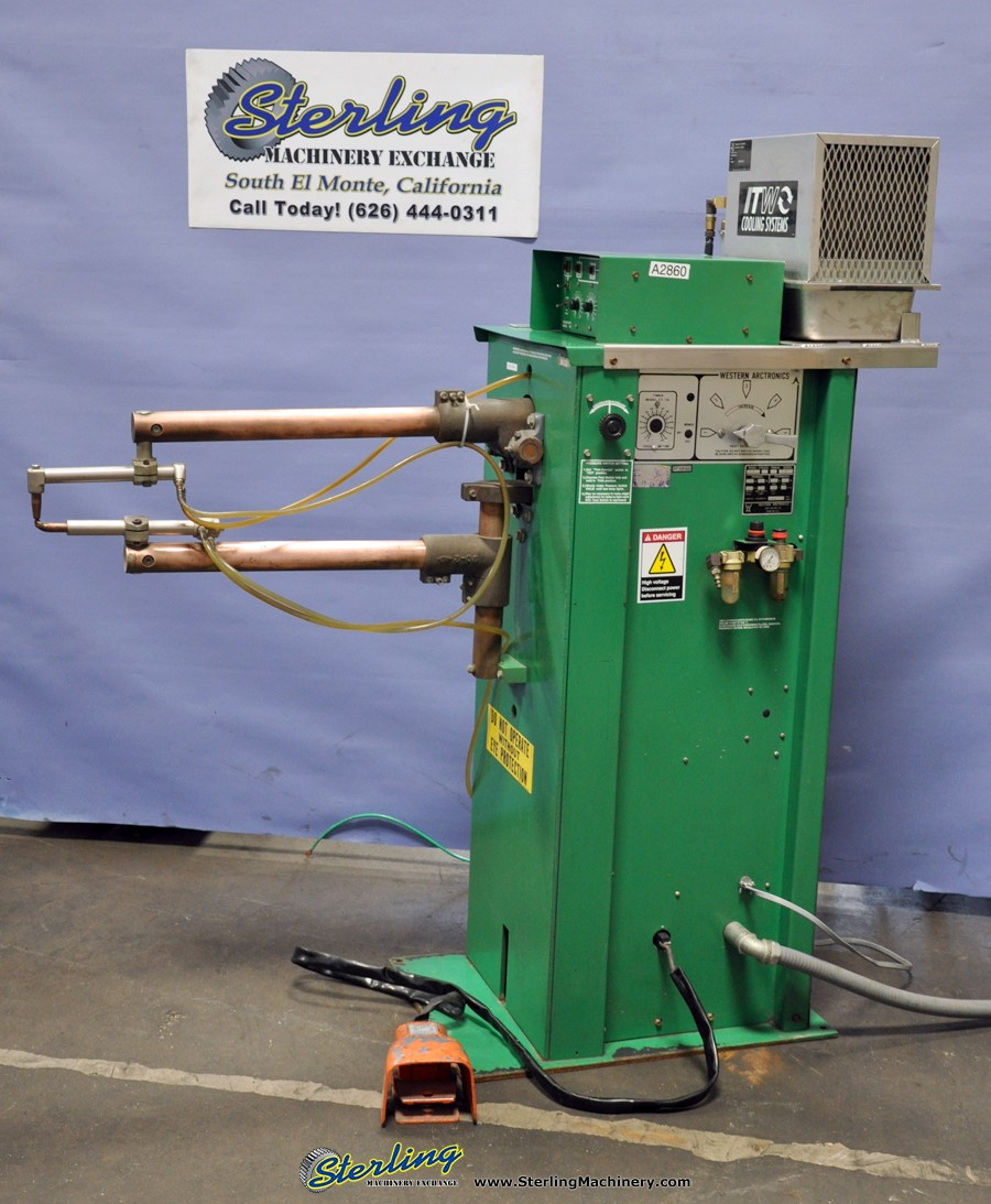 Used Western Arctronics Spot Welder Sterling Machinery on