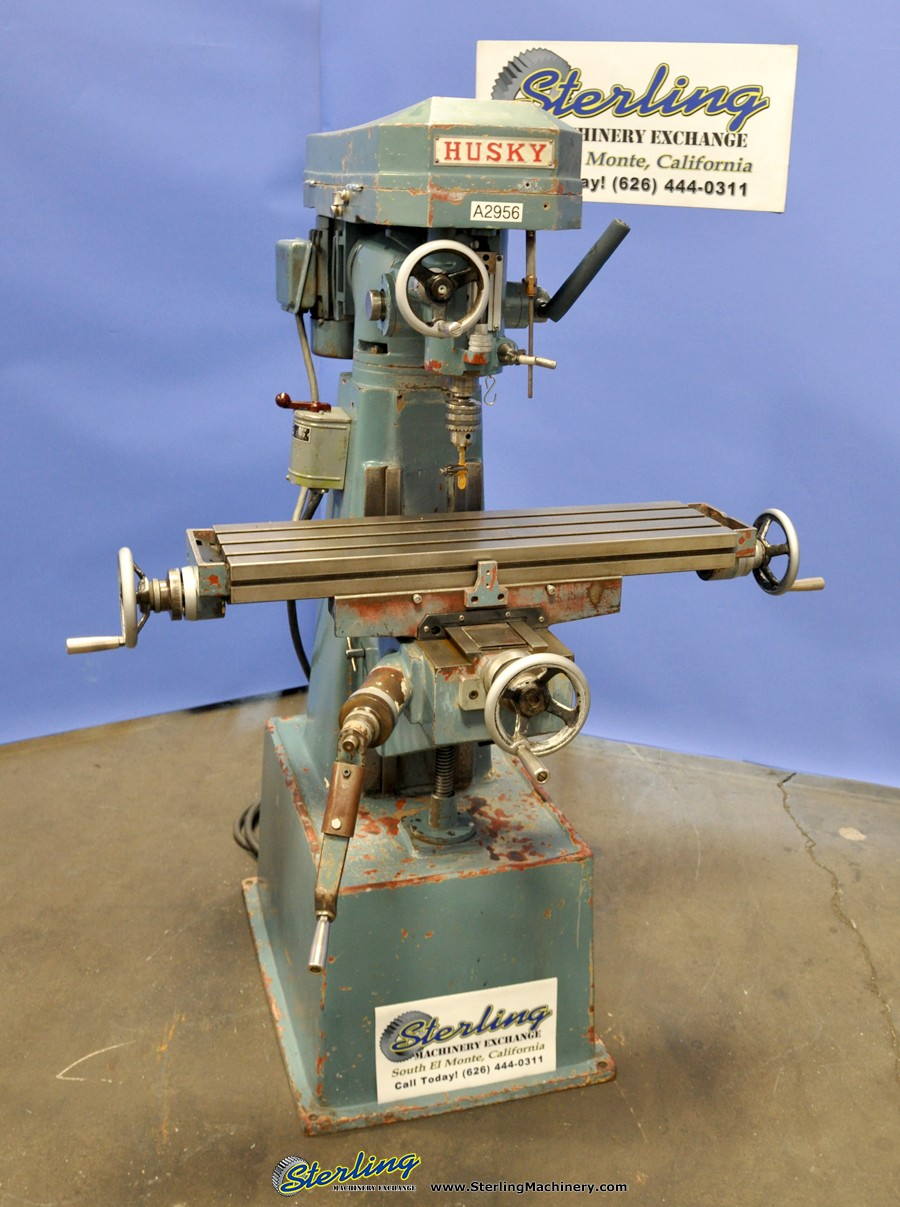Used Husky Vertical Milling Machine - Milling Machines ...