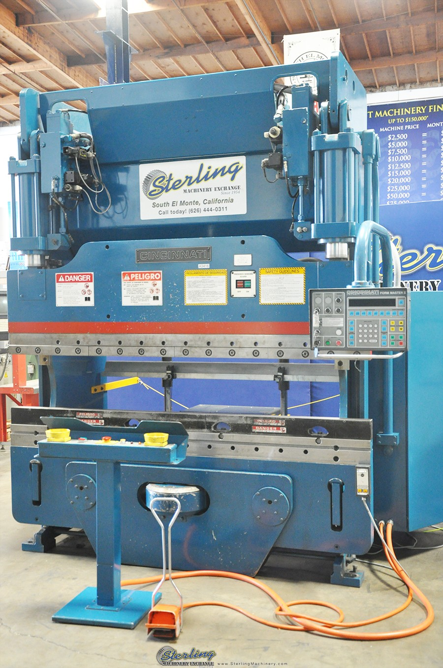 Used Cincinnati Form Master II CNC Hydraulic Press Brake