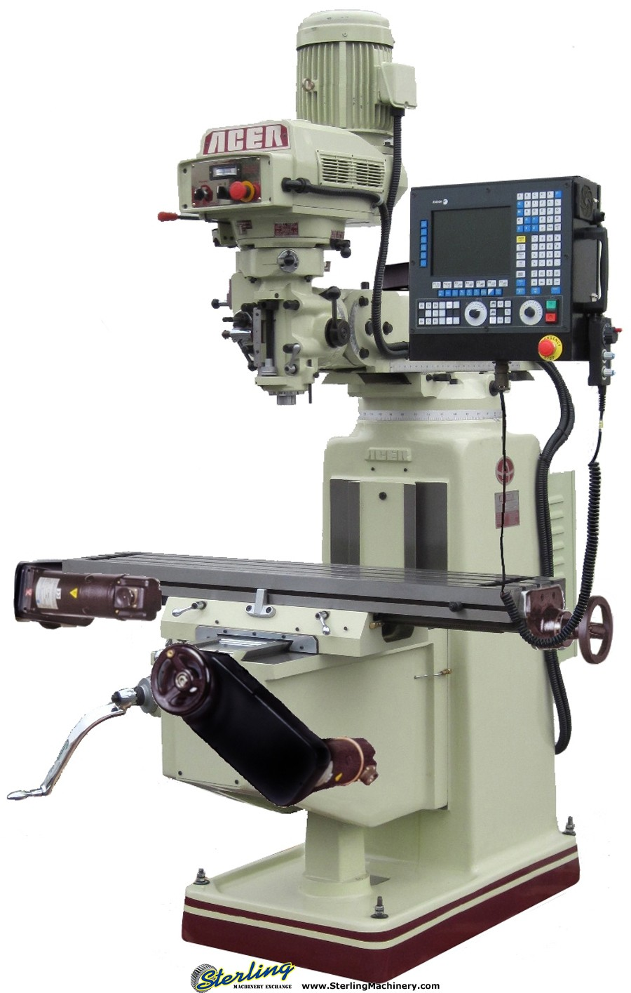 Brand New Acer Vertical CNC Milling Machine With (2 AXIS ...